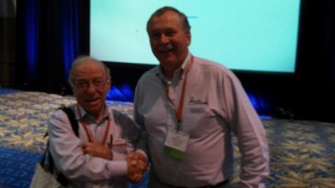 Daniel Hillel and Fred Vocasek
